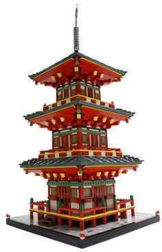 Japanese Pagoda by Matija Grguric, via Flickr