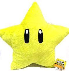 Mario Brothers: Starman 20-inch Plush Pillow Nintendo http://www.amazon.com/dp/B0036FZO9S/ref=cm_sw_r_pi_dp_rkO.tb02BDSSZ