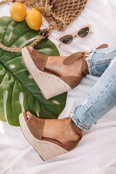 4143ea616af0 The Ophelia Wedge In Mocha. The Ophelia Wedge In Mocha • Impressions Online  Boutique