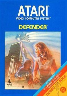 Atari 2600 Defender Game For Sale Coleco Donkey Kong Vintage Video Games, Retro Video Games, Vintage Games, Video Game Art, Retro Games, Vintage Toys, Retro Toys, Games Box, Old Games