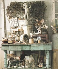 Love everything, great display inspiration for the store