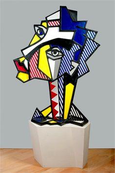 Roy Lichtenstein and Emilio Vedova: two worlds collide