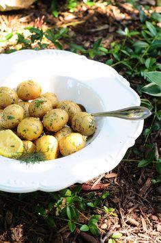 Lemon & Dill Tiny Taters {Vegan, Gluten-Free}