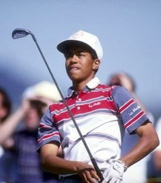 The 1992 Los Angeles Open was Tiger Woods' first PGA Tour tournament - Gary Newkirk / Getty Images
