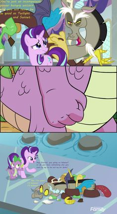 My Little Pony Comic, My Little Pony Pictures, Mlp Spike, Backyard Water Parks, Nick And Judy Comic, Flurry Heart, Mlp Memes, Little Poni, Dibujo