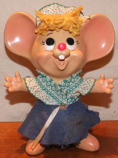 Topo Gigio Rosie Coin Bank by MoonbearConnections on Etsy