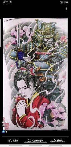 Samurai, Suit, Tattoos, Tatuajes, Tattoo, Formal Suits, Tattos, Samurai Warrior, Tattoo Designs