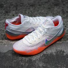 big sale f0708 40843 NIKE KOBE AD NXT 360 INFRARED WHITE MULTI COLOR BASKETBALL AQ1087 100  nike   kobe