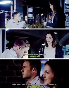 Always finishing each others thoughts and sentences. FitzSimmons
