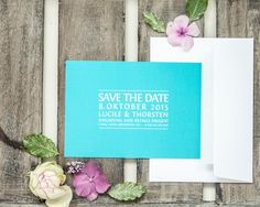"save the date""smart and stylish"", online bestellbar bei www.papierhimmel.com"