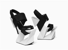 3ders.org - United Nude teams with 3D Systems to 3D print high heels that look like an ice block | 3D Printer News & 3D Printing News