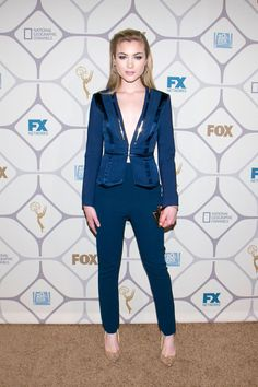 Skyler Samuels at the 67th Primetime Emmy Awards Fox After Party. Photo: Gabril Olsen/Getty Images.