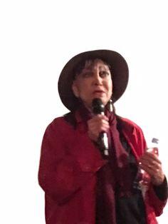 Anna Karina le 30 mars 2018  en présentation de son film de 1973 Vivre Ensemble.