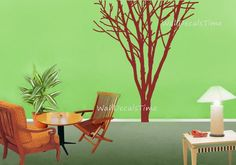 Vinyl Tree Wall Decals Removable Vinyl Decal by WallDecalsTime, $69.00