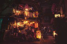 La magie des rues de Tokyo la nuit par Masashi Makui