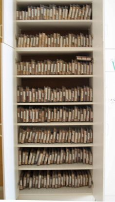 Great way to store stamping up stamps sets