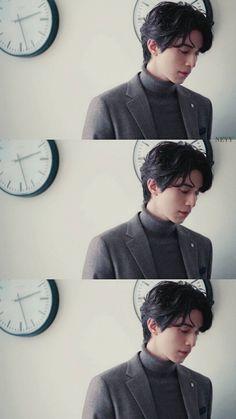 Korean Men, Korean Actors, My Baby Daddy, Lee Dong Wook, Korean Aesthetic, Kdrama Actors, Haircuts For Men, Handsome Boys, Korean Drama