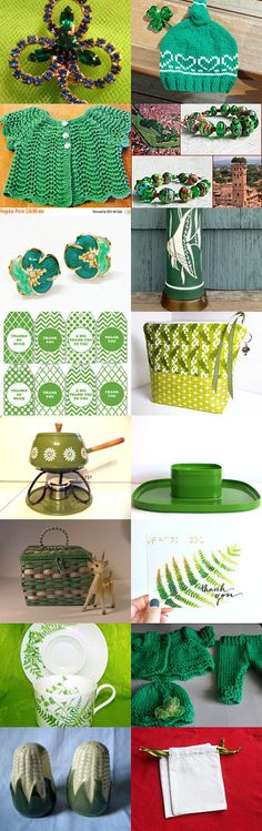St. Patrick's Day Fun. by livingavntglife on Etsy--Pinned+with+TreasuryPin.com