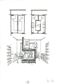 Small Room Design, Kids Room Design, Bedroom Decor For Teen Girls, Student House, Shared Rooms, Bedroom Layouts, Modern House Plans, Kid Beds, House Design