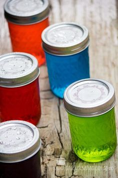 Ready for Mom's Time Out? These Jolly Rancher Vodka filled mason jars are SO much fun!