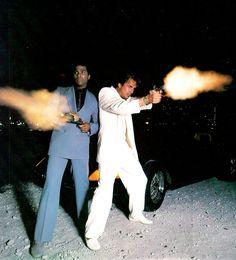 Miami Vice heroes Tubbs & Crockett (www.kooltvblog.blogspot.fi)