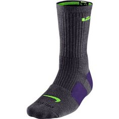 Nike Lebron Elite Basketball Crew Socks Medium 68 ** Click image for more details.Note:It is affiliate link to Amazon. #adorable