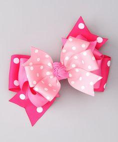 Pink Polka Dot Clip!  http://www.zulily.com/invite/jpalmer893/p/pink-polkadot-clip-19584-2089529.html?tid=social_pinref_shareviaicon_na=2089529