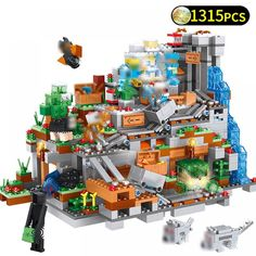 "Universe of goods - Buy ""My World Mechanism Cave Building Blocks Compatible LegoING Minecrafted Aminal Alex Action Figures Brick Toys For Children"" for only USD. Legos, Building Blocks Toys, Light Building, Gifted Kids, Model Building, Educational Toys, Kids Toys, Boy Toys, Gifts For Kids"