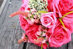 Roses are such a classic flower, as they reflect romance and elegance, so they are always a gorgeous choice for your wedding. Especially in pink, representing love.  #rose #roses #rosepetalevents #pinkrose #wedding  Photo Source: https://pixabay.com/en/wedding-flowers-bouquet-1664757/