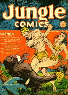 Jungle Comics #19