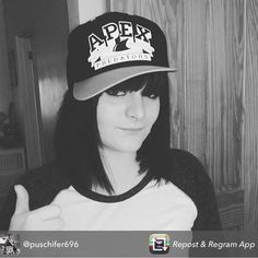 Look at this cutie in one of our #apexpredatorsrd snap back caps! @puschifer696 she is the image of you!! Keep em coming guys! #wewannaseeyourfaces #scerd #rollerderby #merch #supportlocalrollerderby by apexpredatorsrd