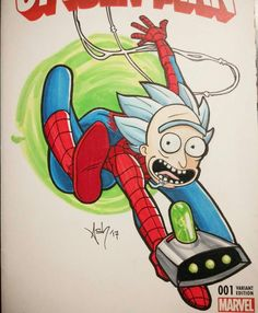 Rick spiderman