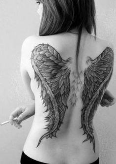 tatuagem asas de anjo - Pesquisa Google