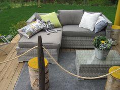 Asuntomessut 2013 by Mari Outdoor Sectional, Sectional Sofa, Outdoor Furniture, Outdoor Decor, Home Decor, Modular Couch, Decoration Home, Room Decor, Corner Sofa