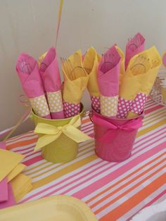 Pink Lemonade Stand Birthday Party Ideas | Photo 6 of 17 | Catch My Party
