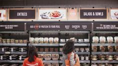 gl/hKtjCu AiFi aims to bring checkout-free shopping to any physical retail location Travel Amazon Stock Price, Amazon Go, Go Store, Free Groceries, Entree Recipes, Easy Salads, Costco, Store Design, Kiosk Design