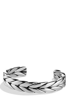 David Yurman 'Chevron' Cuff available at #Nordstrom