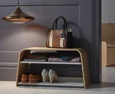 Ashwood Shoe Bench by Conran - Shoe Racks   Shoe Storage Shelves   Boot Racks   Welly Stands
