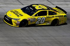 Matt Kenseth, driver of the #20 Dollar General Toyota, practices for the NASCAR Sprint Cup Series Irwin Tools Night Race at Bristol Motor Speedway on August 21, 2015 in Bristol, Tennessee.