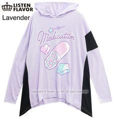 picture of LISTEN FLAVOR Heart Pill Hoodie 3