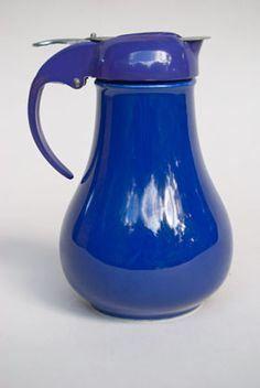 vintage Fiesta syrup pitcher