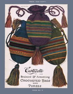 Great picture inspiration, but the pattern is not free for this one... Heirloom Crochet Patterns - Vintage Crochet Books - Corticelli No 4