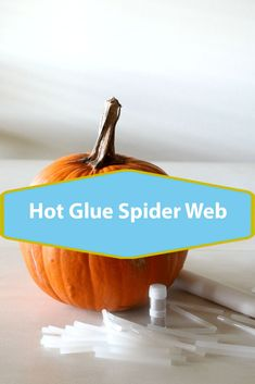 Hot Glue Spider Web Pumpkin, easy DIY Halloween craft to decorate all your pumpkins, works with orange and white pumpkins, complete with picture tutorial, crafting fun Homemade Halloween Decorations, Halloween Crafts, Levitation Photography, Abstract Photography, Macro Photography, Fun Crafts, Crafts For Kids, How To Make Something, Glue Gun Crafts