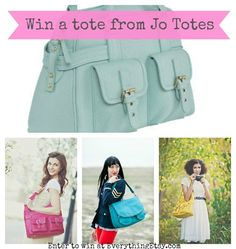 Crafty Girl Linky Party and Jo Totes Giveaway on Everything Etsy