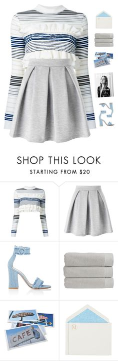 """""""You're my muse"""" by genesis129 ❤ liked on Polyvore featuring STELLA McCARTNEY, Miss Selfridge, Gianvito Rossi, Christy, Bob's Your Uncle, Connor and vintage"""