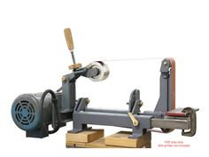 *PDF plan only. No physical items will be shipped* This is a PDF step-by-step instruction to help you build your own 2x72 tilting belt grinder like mine. This is one of the most versatile belt grinders ever made. Any attachment or table can be fitted in the two slots in the frame, and