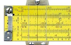 A More Complete Slide Rule Tutorial : 21 Steps (with Pictures) - Instructables Old Technology, Engineering Technology, Old Calculator, Trigonometric Functions, Adding Fractions, Multiplication Problems, Slide Rule, Math About Me, Fun Math