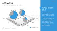 BCG Matrix PowerPoint Template