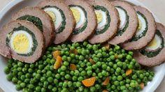 POLPETTONE RIPIENO, uova, spinaci e speck, un secondo di carne tradizionale, nutriente e gustoso. Accompagnato da verdure, purè o salse a piacere...
