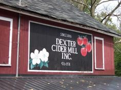 """The Dexter Cider Mill is the oldest continuously operating Cider Mill in Michigan. Cited by """"Hour Detroit"""" magazine as one of the 101 places to visit in the greater Metropolitan area. Eastern Michigan University, Michigan Travel, Welcome To Our Wedding, Ann Arbor, Covered Bridges, Dexter, Weekend Getaways, Wonderful Places, Things To Do"""